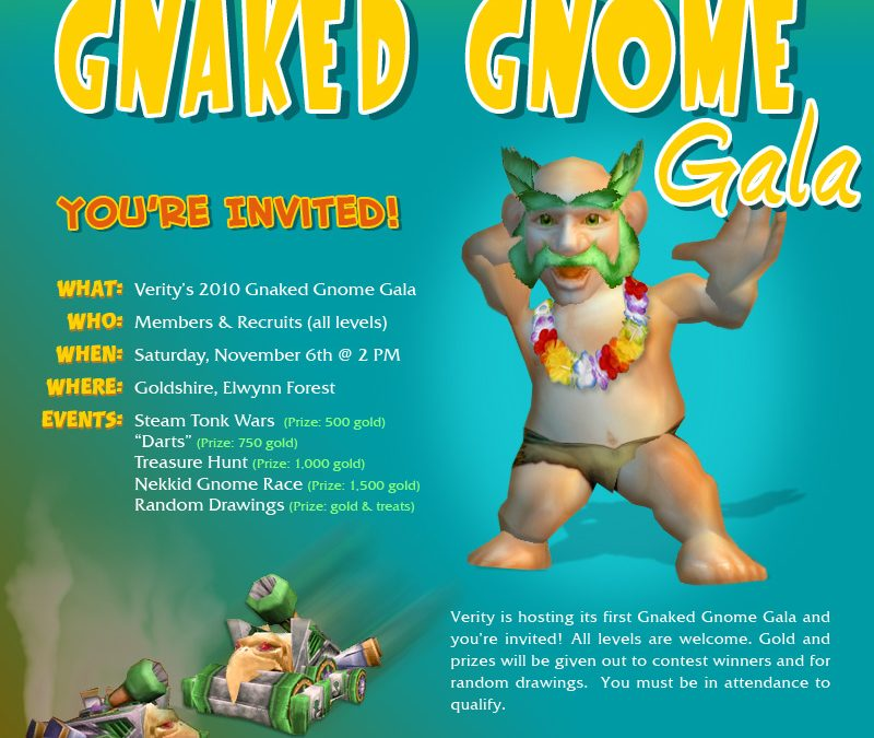 Gnaked Gnome Gala