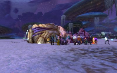 Brackenspore lit up; Kargath heroically vanquished